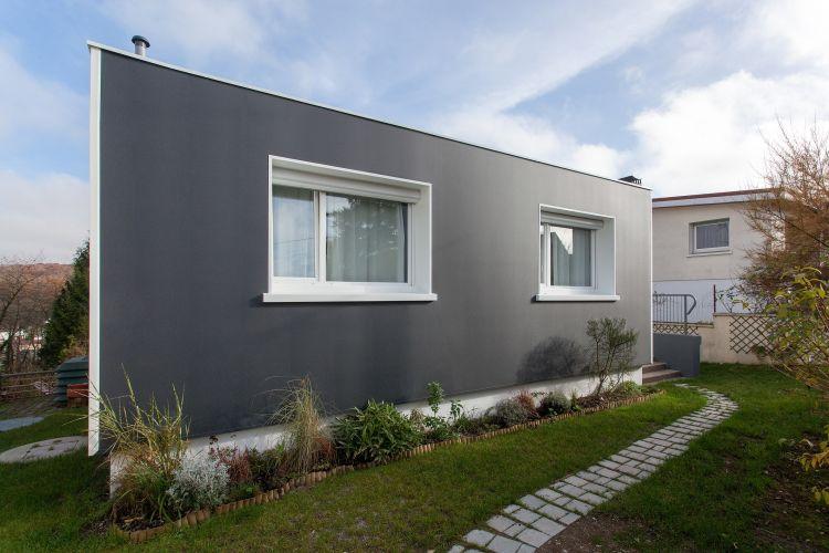 Top 3 des chantiers r nov s avec la solution d ite uniso for Peinture facade maison grise