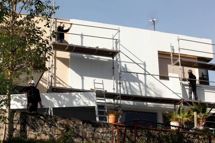 Isolation ext rieure solution ligible aux aides de l for Aide a la renovation maison