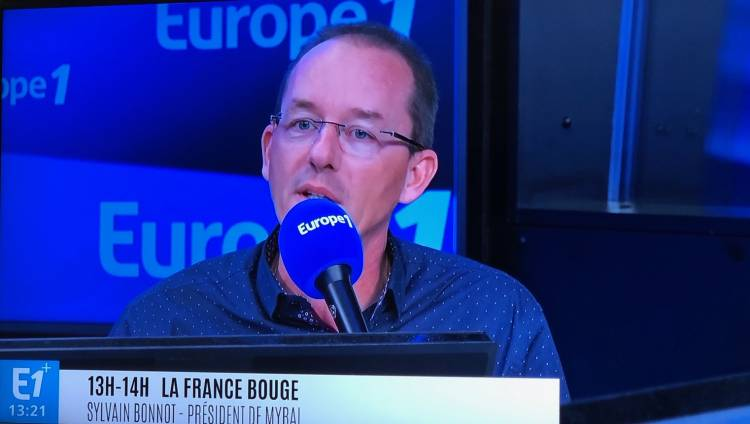 Uniso et son PDG Sylvain Bonnot sur Europe 1 !