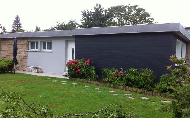 R novation thermique d 39 une maison des ann es 1970 uniso solutions iso - Renovation maison 1970 ...