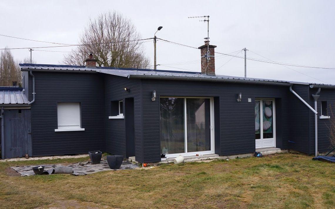 isolation des murs ext rieurs d 39 une maison beugn tre uniso solutions isolation. Black Bedroom Furniture Sets. Home Design Ideas
