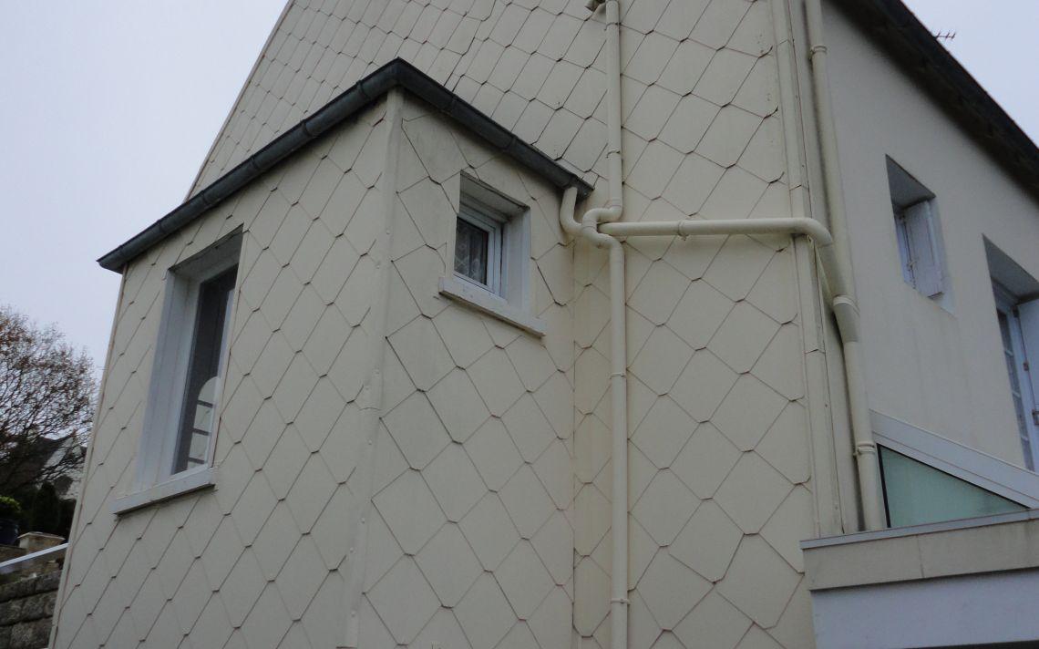 pose d 39 isolation thermique sur pignon nord uniso. Black Bedroom Furniture Sets. Home Design Ideas