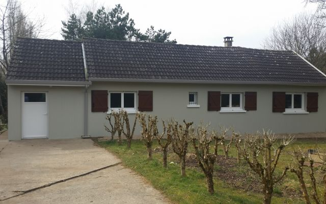 R novation thermique d 39 une maison des ann es 1970 uniso solutions isolation for Maison 1970 renovation