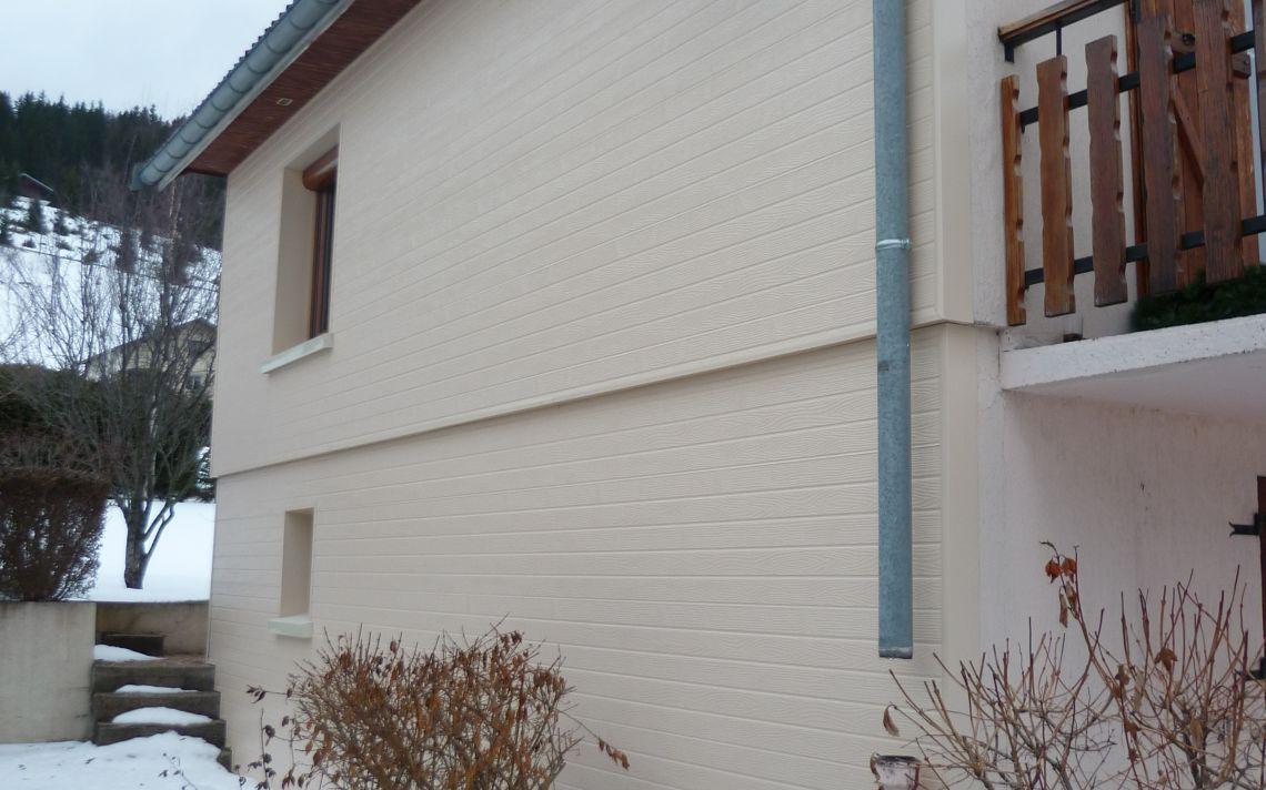Isolation par l 39 ext rieur de la face sud d 39 une maison uniso - Isolation maison par l exterieur ...