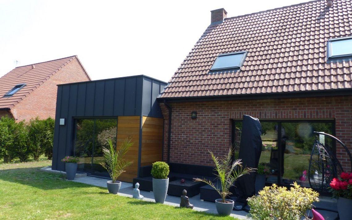 isolation thermique d 39 une extension de maison uniso solutions isolation. Black Bedroom Furniture Sets. Home Design Ideas
