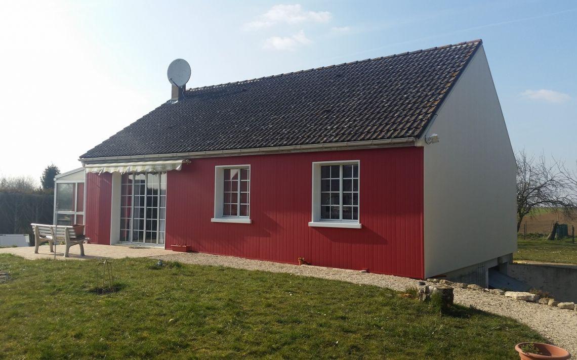Isolation thermique d 39 une maison de plain pied uniso solutions isolation - Une maison de plain pied ...