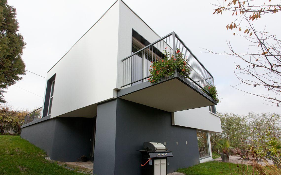 isolation thermique des murs d 39 une maison d 39 architecte uniso