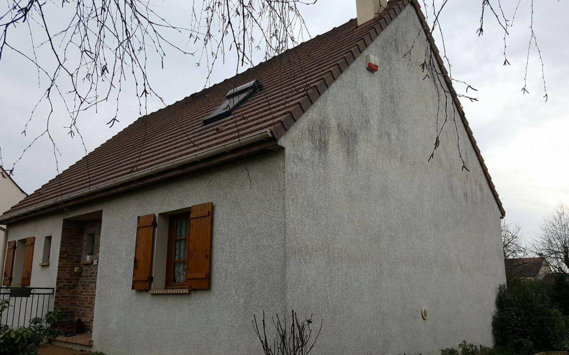 Ravalement et isolation du pignon d 39 une maison dans l for Isolation maison ancienne prix