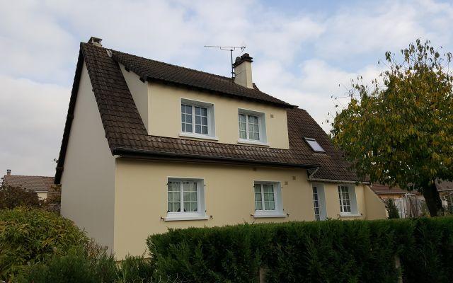 Isolation des fa ades d 39 une maison de plain pied uniso solutions isolation - Renovation maison annee 70 ...